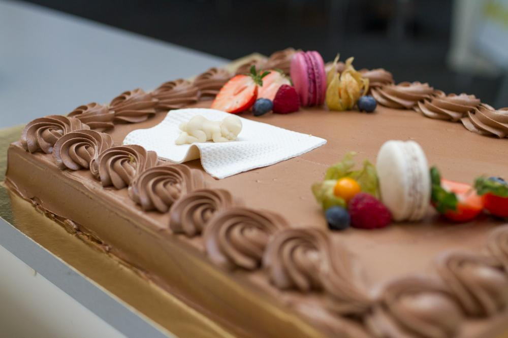 Baby Bonus cake (Photo: Karoline Hagane/Simula)