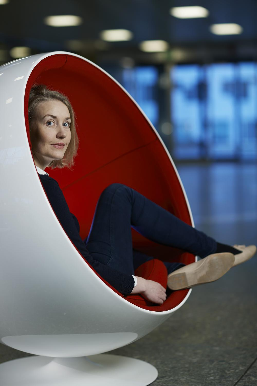 Marie Rognes (Photo: Simula/Bård Gudim)