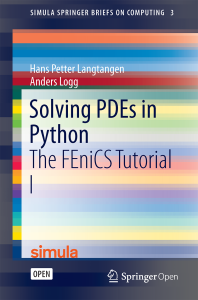 Solving PDEs in Python | Simula