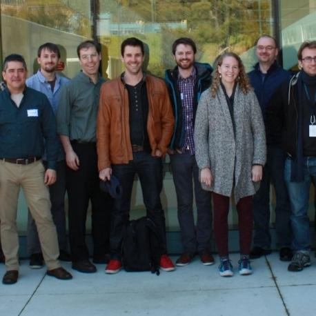 A tiny subset of the Jupyter contributors and users that made Jupyter possible—Biannual development meeting, 2016, LBNL. (Photo: blog.jupyter.org)