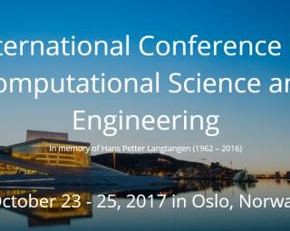International Conference on Computational Science and Engineering 2017 (Illustration: cseconf2017.simula.no)