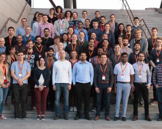 Group photo of the RegML '17 course attendees (Photo: Simula/Karoline Hagane)