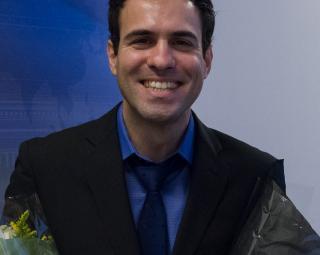 Evangelos Tasoulas has successfully defended his PhD. (Photo: Simula/Elin Backe Christophersen)