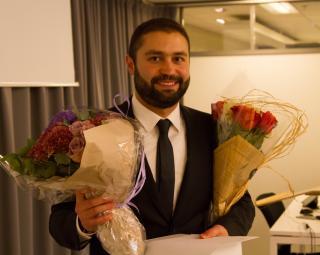 Amir Reza presents his thesis
