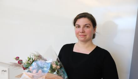 Ioana Livadariu has defended her PhD