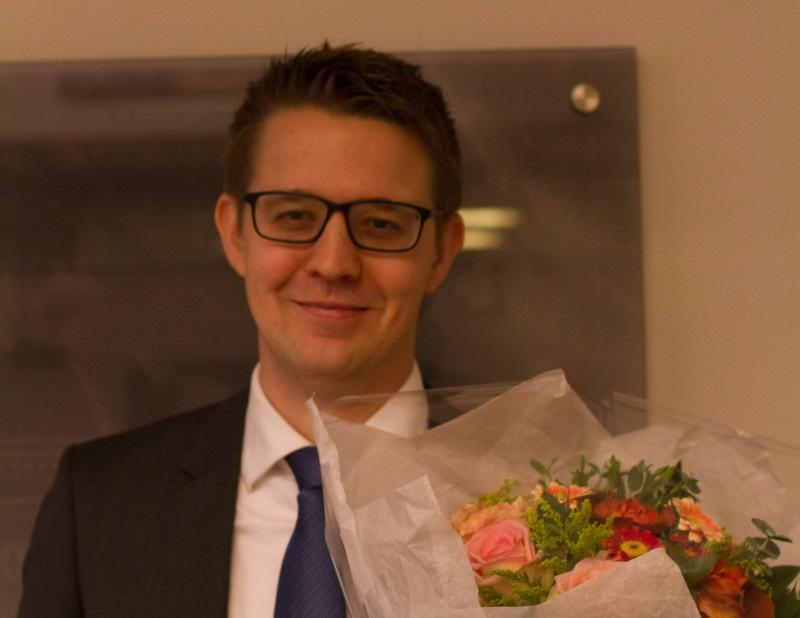 Øyvind Evju defends his thesis