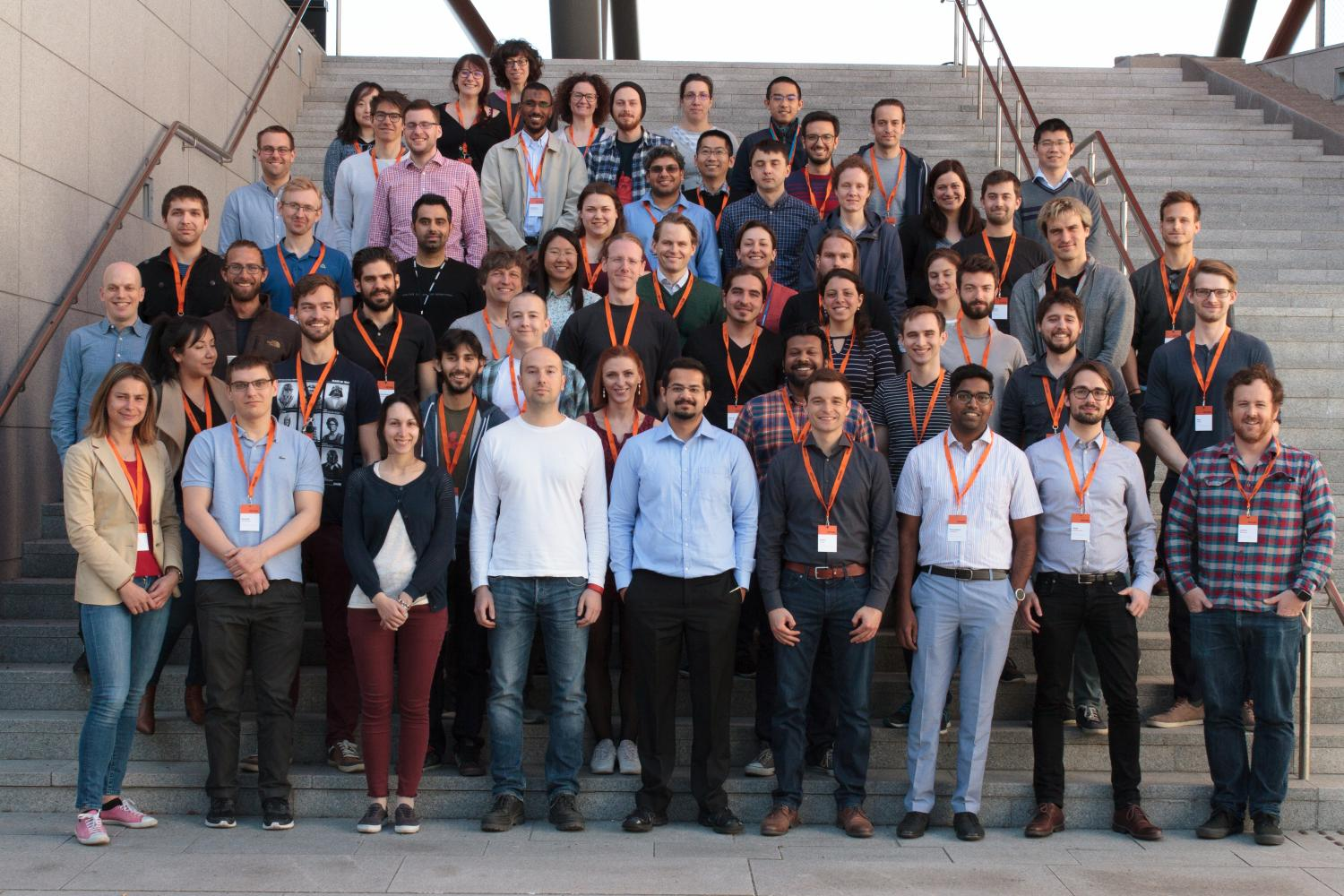 Group photo of the RegML '17 course attendees (Photo: Simula/Karoline Hagane)