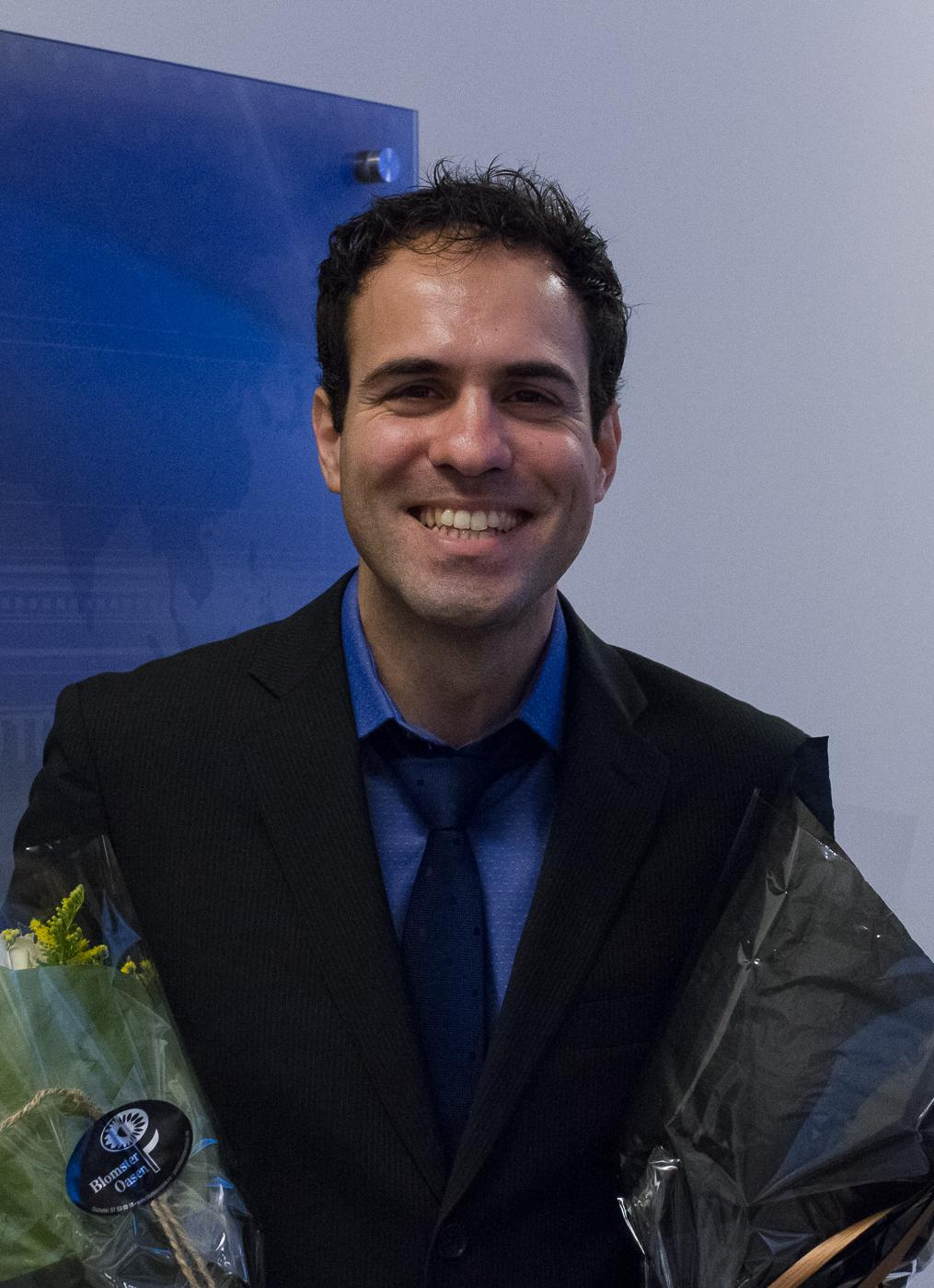 Evangelos Tasoulas has successfully defended his PhD. (Photo: Simula/Elin Backe Christophersen)