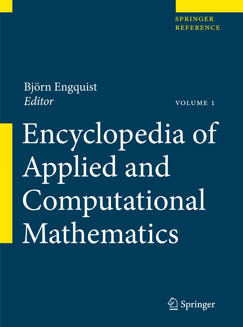 Cover of Encyclopedia of Applied and Computational Mathematics