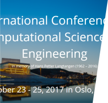 International Conference on Computational Science and Engineering 2017