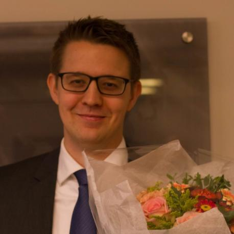 defended his thesis