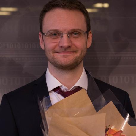 Kristoffer Robin Stokke (Photo: Simula/Karoline Hagane)