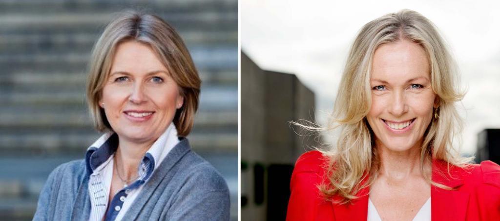 Kristin Vinje og Anita Krohn Traaseth