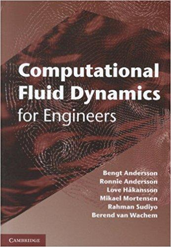 Book cover: Computational Fluid Dynamics for Engineers