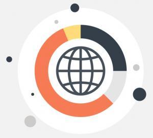 Big data illustrated - Illustration by Colourbox